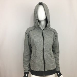 Lululemon Hoodie Zip Up Jacket Thumbhole Size 8